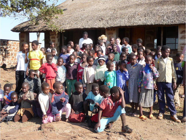 Tom Slatter and friends in Africa - June 2008